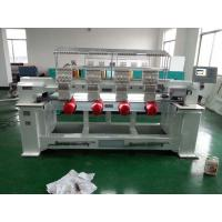 Buy cheap Four Heads / Single Head Computer Embroidery Machine Support Multi Languages from wholesalers
