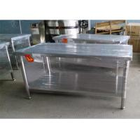 Wholesale Durable 304 Stainless Steel Work Table For Home / Commercial 1500*800*600mm  from china suppliers