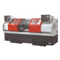 Wholesale Double spindle CNC lathe Machine , horizontal 2 head threading machine from china suppliers