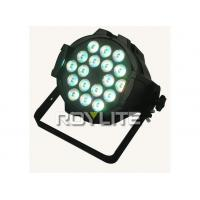 Wholesale 18 x 10w Theatre Led Par Lights RGBWwith 4 in 1 LEDs , 8 DMX channels from china suppliers