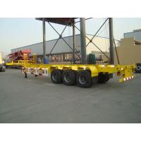 China 40ft 20ft container chassis semi trailer for sale - CIMC VEHICLE on sale