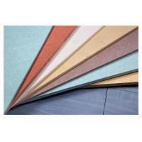 China UV Coated Colored Fiber Cement Board Fireproof Waterproof High Strength on sale
