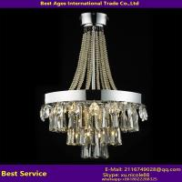 Wholesale Unique Designer Chandelier Light Crystals Glass Ceiling Light LED Hanging Pendant from china suppliers