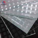 China Reinforcement Warp Knitting Fiberglass Geogrid Composite Geotextile 50 Kn - 300 KN for sale
