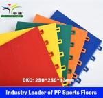 Wholesale Indoor Futsal Court Sport Floor,Modular PP Sports floor,Interlock Sport Tiles from china suppliers
