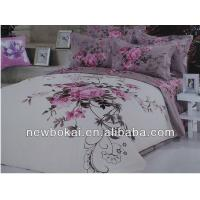 China bedding sets,embroidery polyester quilt polyester quilted bedspread,filling with cotton or polyester on sale
