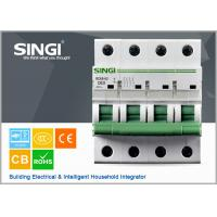 Wholesale 230V single phase 4P Miniature Circuit Breakers for protection overload and short circuit from china suppliers