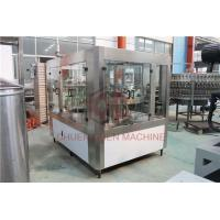 Wholesale Small Scale Hot Juice Filling Machine Glass Bottle Water Capping Line from china suppliers
