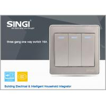 Buy cheap GNW56BK Hot China British Style Wall Switch ,tactile switch led illuminated from wholesalers