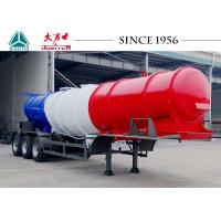 Wholesale 3 Axles V Shaped Acid Tanker Trailer 40 Tons Payload With Airbag Suspension from china suppliers