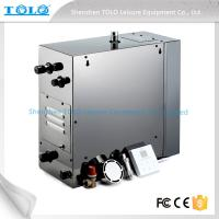 Buy cheap 4.5kw 240v Auto Drain Steam Room Steam Generator With Iphone Wireless Control from Wholesalers