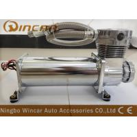 Buy cheap Silver Suspension Auto Air Compressor , CE Approved Small Air Compressor For Tires from wholesalers