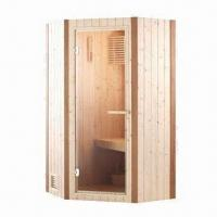 Wholesale Steam Shower Room with Toughened Transparent Glass Door from china suppliers
