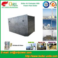 Wholesale 80 Ton Gas Boiler Air Preheater In Thermal Power Plant , Air Pre Heater from china suppliers