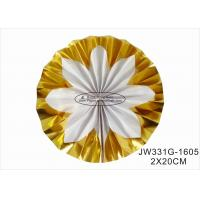 Wholesale Hot Gold Foil Paper Fan Wedding Decorations With Vibrant Bright Colors from china suppliers