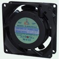 Buy cheap AC Axial 80mm Ball or Sleeve bearing Industrial cooling Fans, 10w 7 blade fan from wholesalers