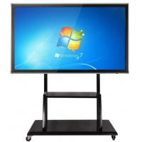 Buy cheap Floor Stand Movable Touch Screen LCD Monitor Support Windows / Android For Teaching from wholesalers