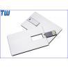 Twister Metal Card USB Thumb Drives High Quality Digital Printing for sale