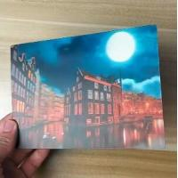 Wholesale OK3D printing factory supply Good Quality Custom Offset Printing Plastic PET Lenticular 3D lenticular card from china suppliers