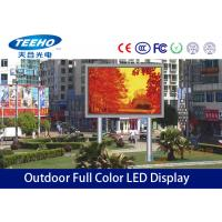 Wholesale SMD P10 Outdoor Full Color Led Signs Display 1R1G1B , Seamless LED Screens For Cross Road from china suppliers