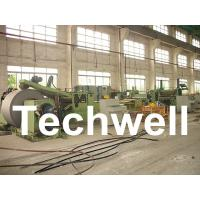 Wholesale Automatic Slitting Machine Line Composed of Uncoiler, Pinch / Leveling, Slitting, Recoiler from china suppliers