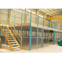 Wholesale Custom Rack Supported Mezzanine , Flexible Logistics Storage Multi Level Mezzanine from china suppliers