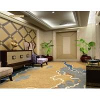 China Commercial PVC Flooring New Zealand Wool With Nylon Material Eco - Friendly for sale