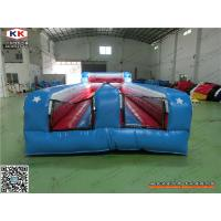 Wholesale Blue Thick PVC Inflatable Sports Arena , Safety  Kids Bounce House For Party from china suppliers