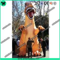 Wholesale 5m Printing Giant Decorative Dragon Inflatable Dinosaur For Outdoor Event Decoration T-REX from china suppliers