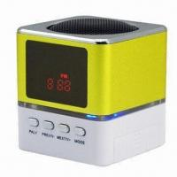 Wholesale Mini Multimedia Computer Speaker, New Design, Portable, with USB/SD Card Function from china suppliers