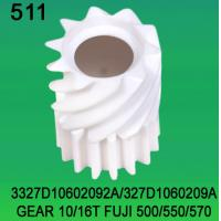 Wholesale 3327D10602092A / 327D1060209A GEAR TEETH-10/16 FOR FUJI FRONTIER 500/550/570 minilab from china suppliers