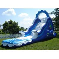 Wholesale Mini Inflatable Water Slides , Small Inflatable Pool Slide For Water Park from china suppliers