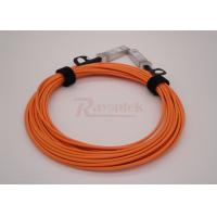 Wholesale SFP+ to SFP+ 10G AOC Orange Fiber Cable 4m-AOC-10GBASE Compatible from china suppliers