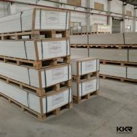 High quality wholesale E018mm standard plywood packing kkr 12mm solid surface sheet acrylic solid surface