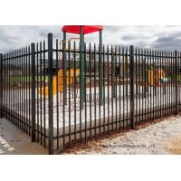 Wholesale Safely Metal Modern Zinc Steel Fence Tubular Picket Fence For Downtown from china suppliers