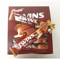 Wholesale Twins Crispy Roll Buscuits With Chocolate And Milk Center / Sandwich Biscuit from china suppliers