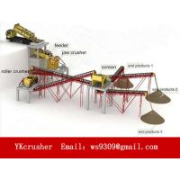 China Mobile Aggregate Processing Plant Used For Various Hard Materials on sale