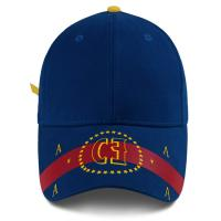 Wholesale Custom Embroidery Cotton 58cm Six Panel Baseball Cap from china suppliers