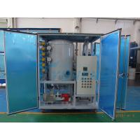 Small Transformer Oil Filtration Machine with Door for sale