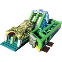 Quality Giant Inflatable Obstacle Course , Playground Outdoor Obstacle Course For Students for sale