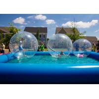 Quality Outdoor Swimming Pool For Kids , 0.9mm PVC Walking Ball For Inflatable Swimming Pool for sale