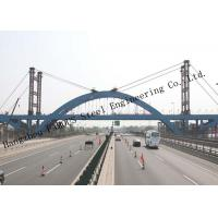 China Steel Fabricator Prefabricated Steel Structural Bailey Bridge Of Reinforced Steel Q345 for sale