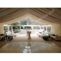 Wholesale Noble and Bright Fabric Luxury Wedding Marquee for Events and Parties on Grassland from china suppliers