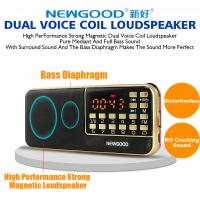 Wholesale Bluetooth radio led speaker with disco flashing lighting show from china suppliers