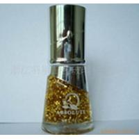China 12ml Fancy Transparent Empty Nail Polish Bottle With ABS Cap on sale