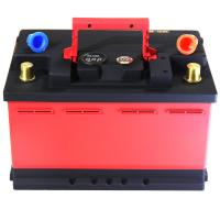 Wholesale Red And Black Lifepo4 Battery Cells / Lithium Phosphate Car Battery CE FC RoHS from china suppliers
