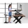 Gas Spring Riser Height Adjustable Standing Desk Ergonomics Monitor Height for sale