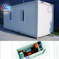 China China flat pack homes , Two story container homes made in China on sale