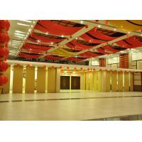 Veneer Commercial Folding Office Partition Walls Sealing Edges On The Inside for sale