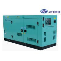 30kVA 1500rpm Cummins Diesel Generator with AMF / ATS Panel , AC Output for sale